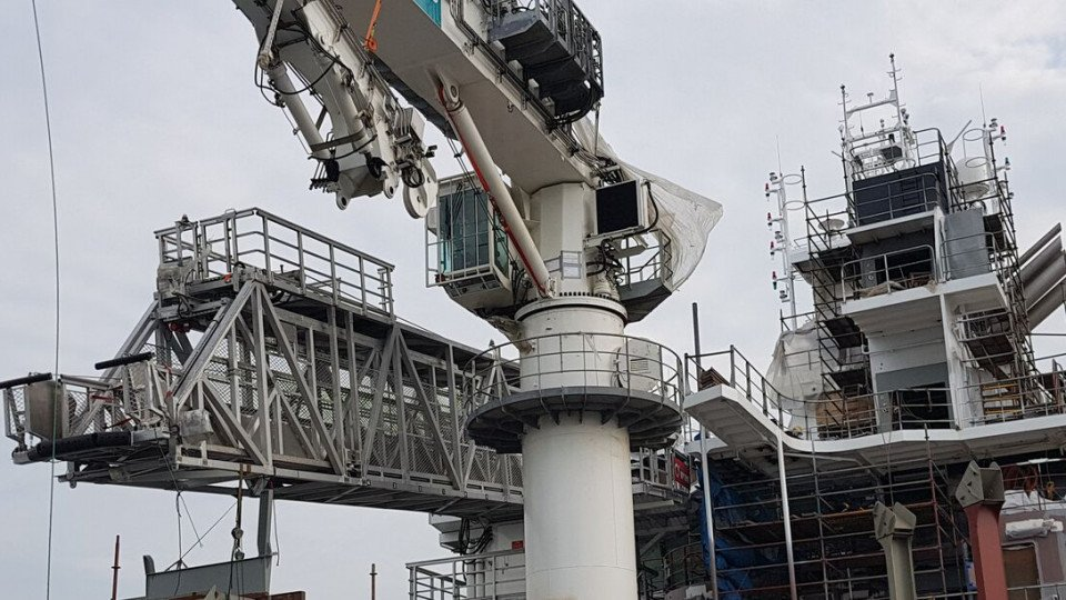 Working Areas and Advantages Of A Walk To Work Gangway System