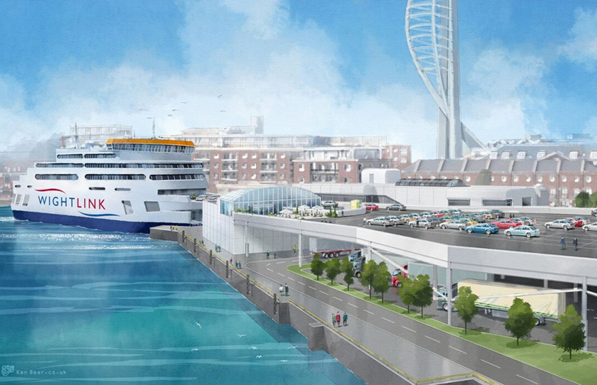 A New Ferry Contract!