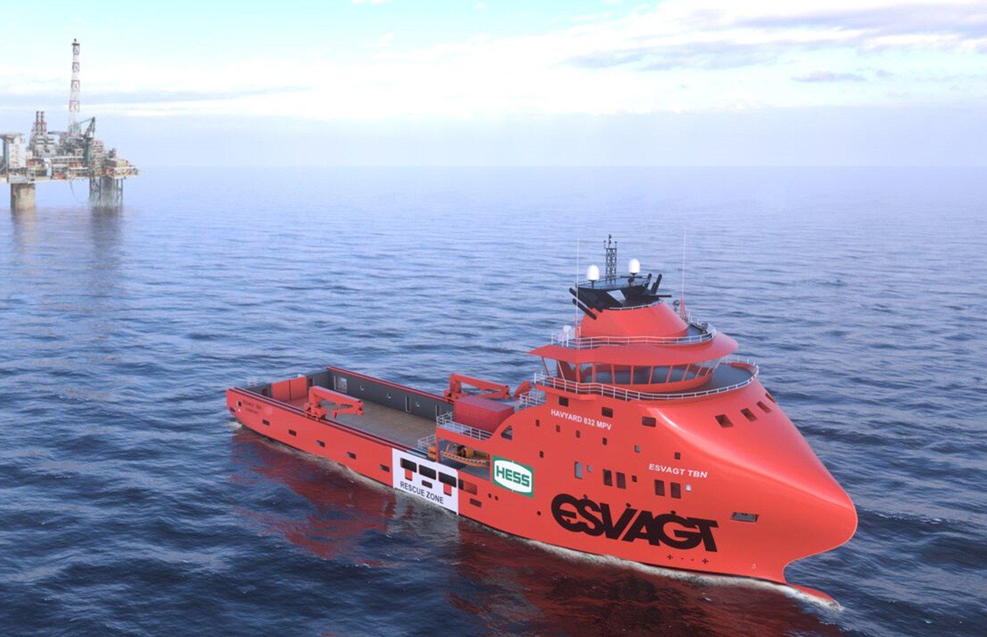 The Second Ship for ESVAGT!