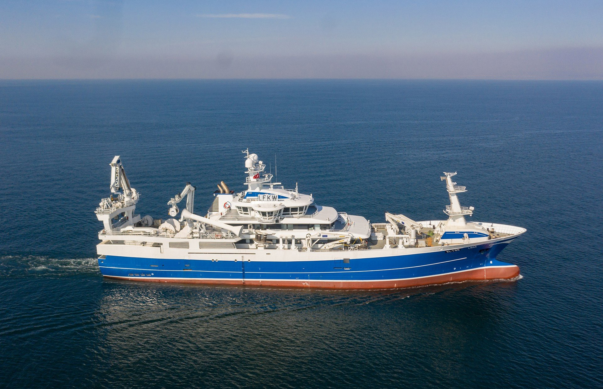 Purse Seiner Trawler NB64 Libas is Delivered.