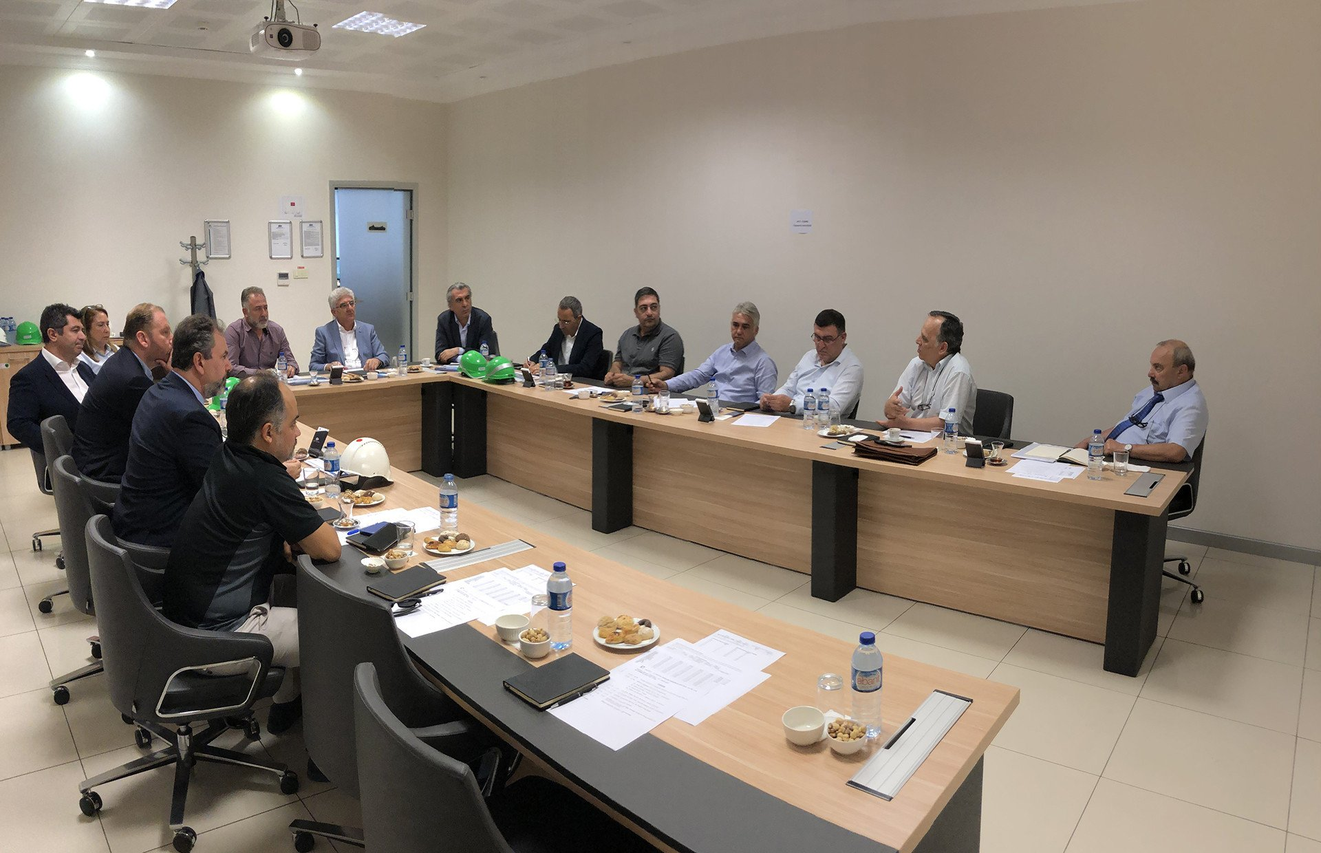 Executives of Milliyet are at Cemre!