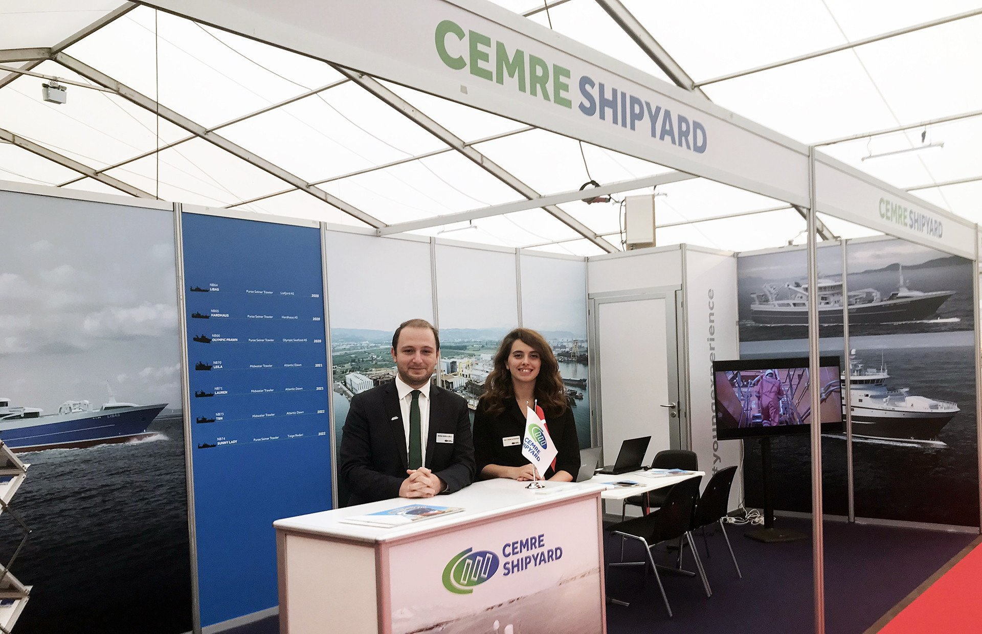 Cemre Shipyard is Exhibitor at DanFish 2019!