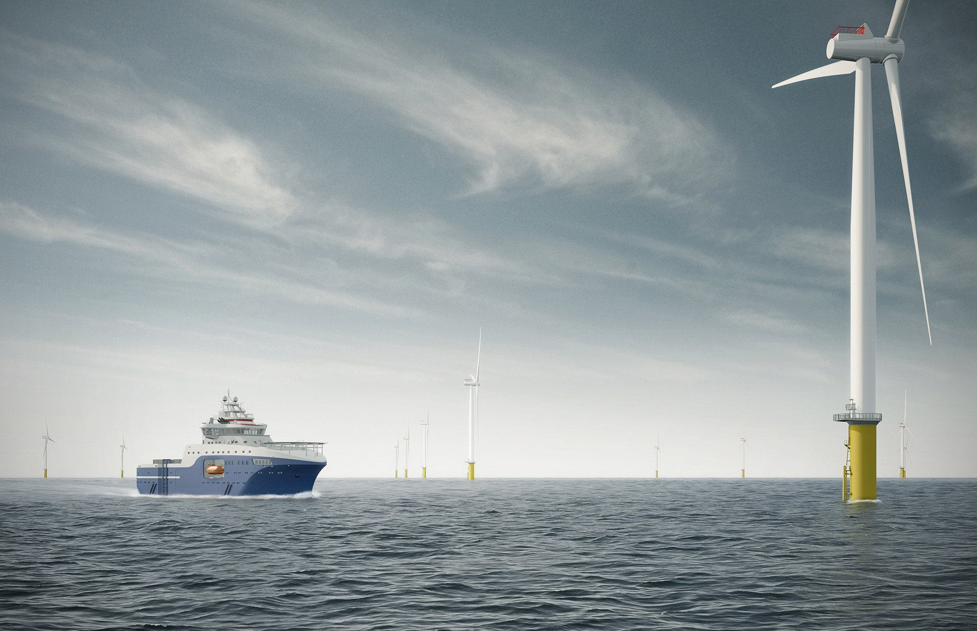 Wind of Hope: Second Vessel to LDA: A New Hybrid SOV on the way!