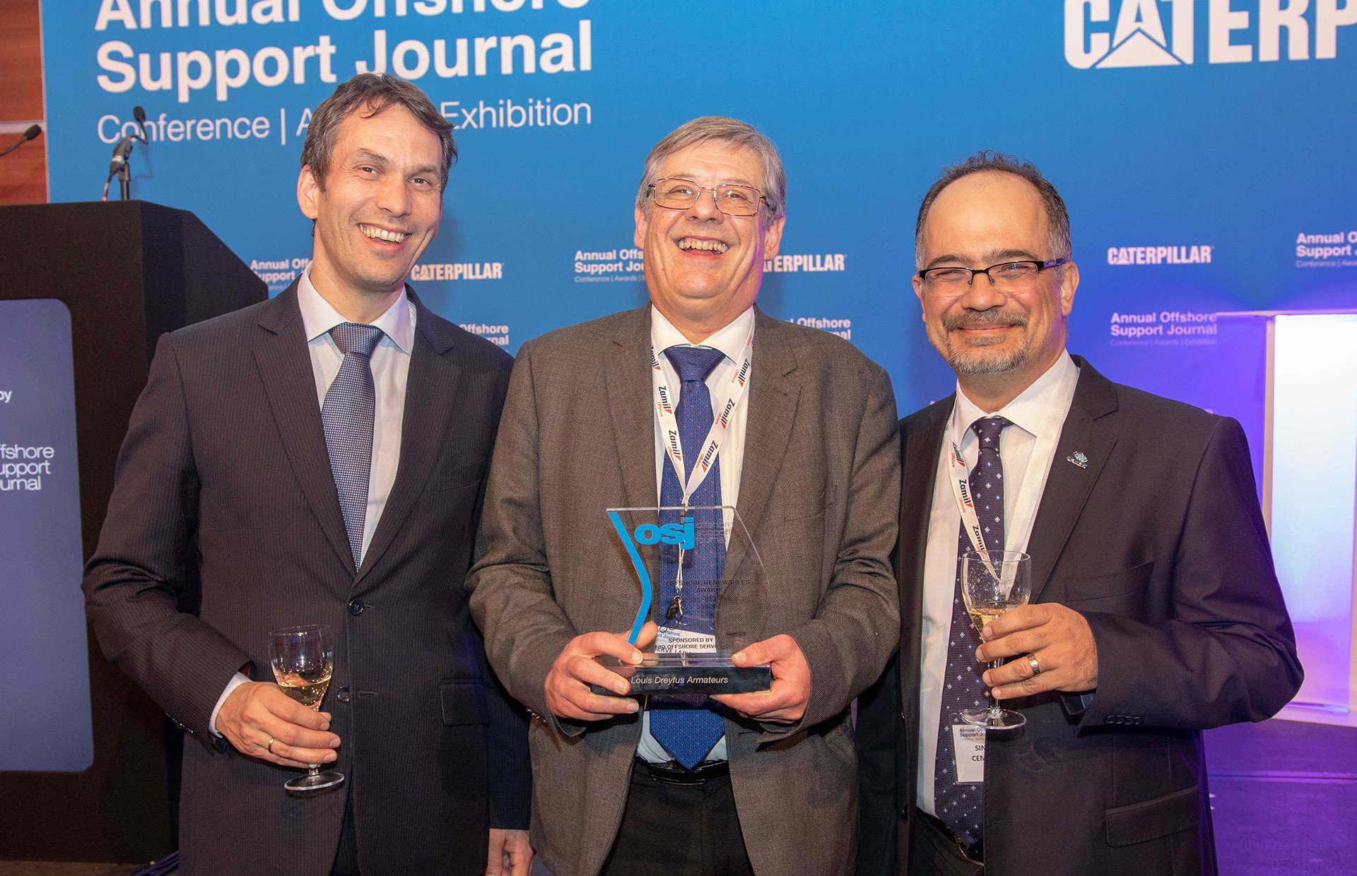 OSJ Offshore Renewables Award 2019 goes to… Wind of Change!