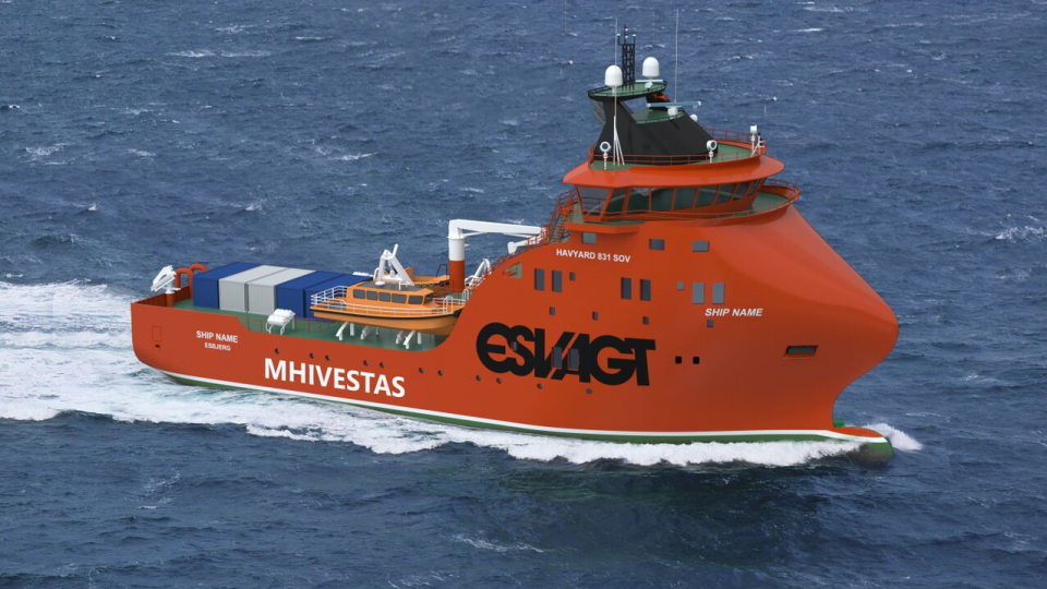 A New Contract with ESVAGT!