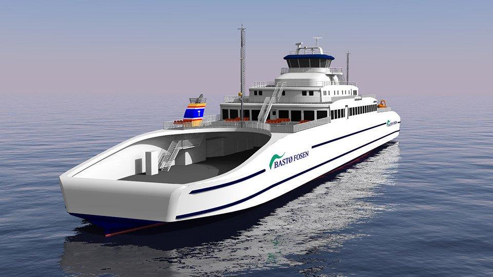Cemre Tersanesi Süper Ferry İmzaladı!
