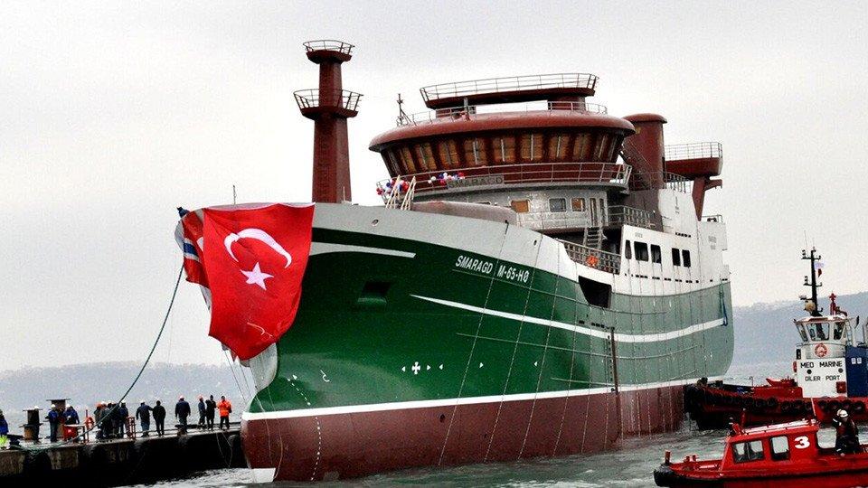 2015'in İlk Denize İndirilen Gemisi, Smaragd!
