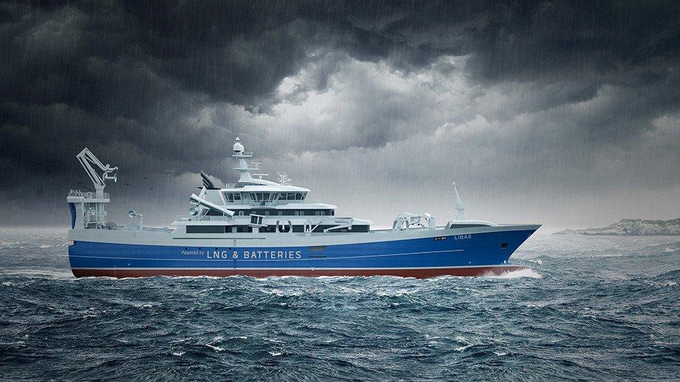 Dünyadaki İlk Bateri ve LNG Purse Seiner Trawler CEMRE'de!