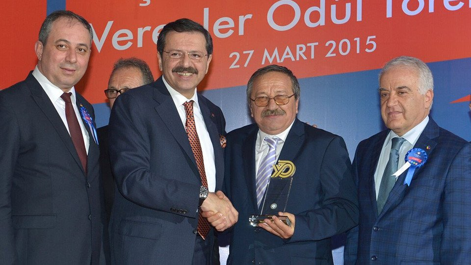 Leaders of the Yalova business community awarded!