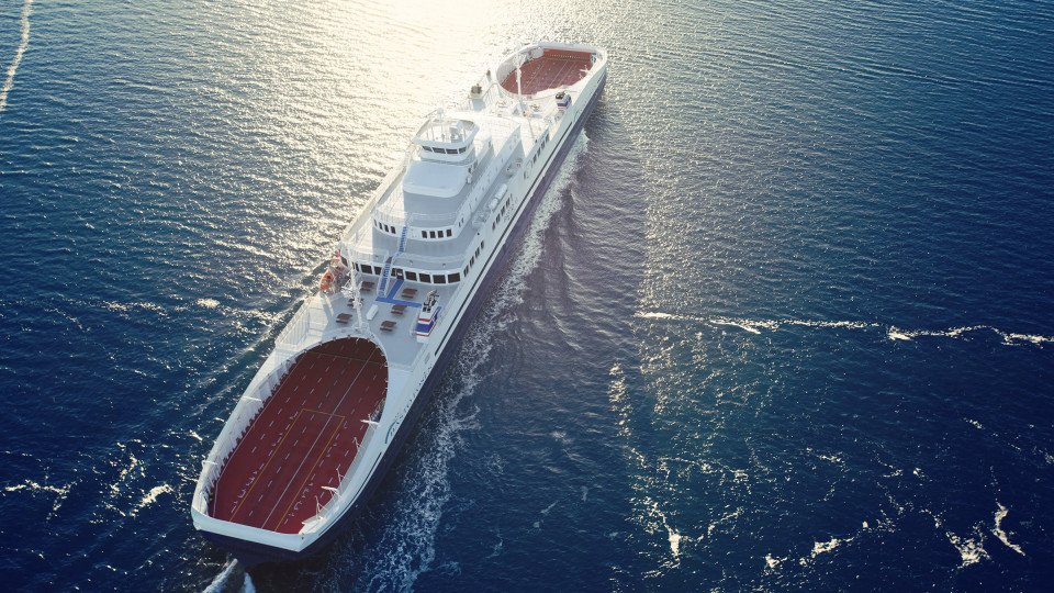 """Super Ferry"" Bastø  VI Teslim Edildi"