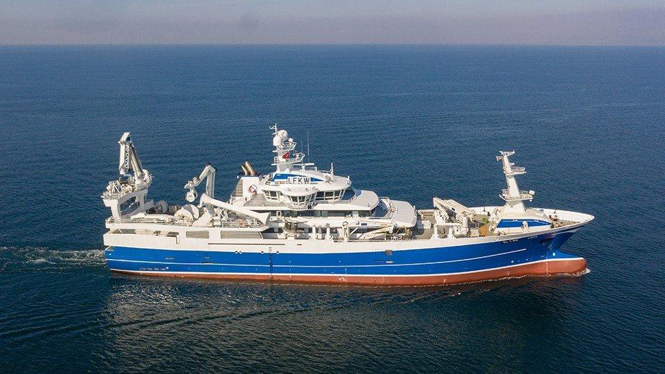 Gırgır/Trol Gemisi  NB64 Libas Teslim Edildi.