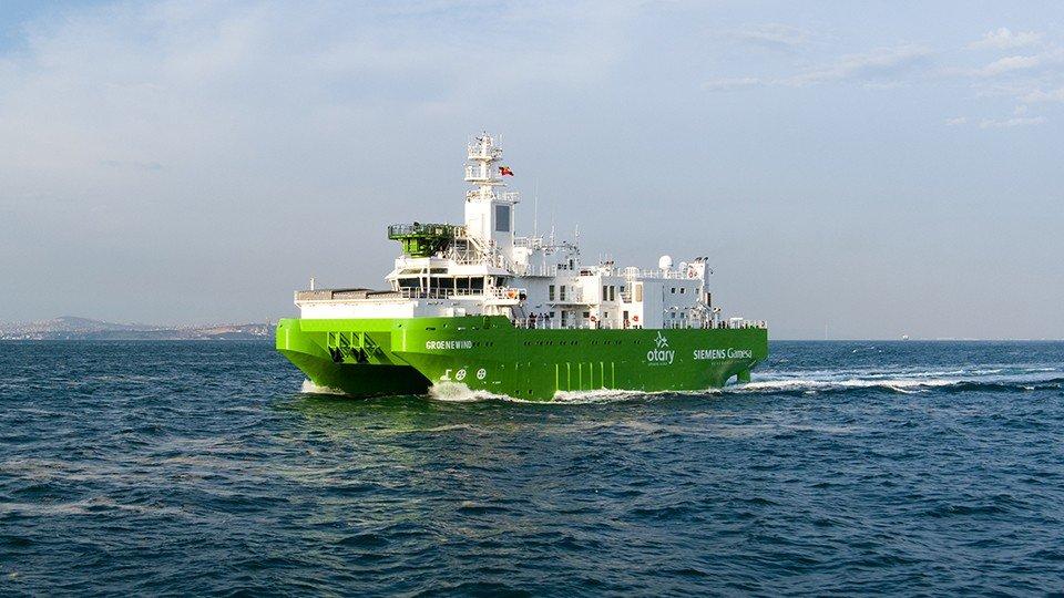 Groenewind Sailed to Her Home