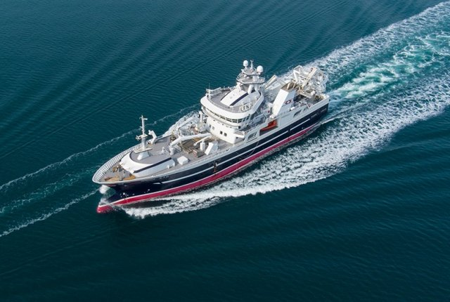 Gırgır/Trol Gemisi NB65 Hardhaus  Norveç'e Teslim Edildi.