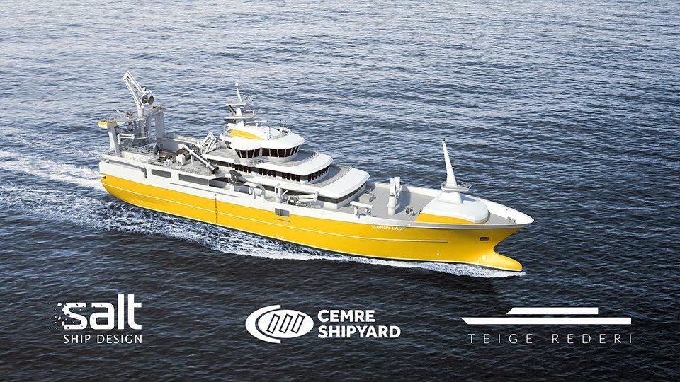 Sunny Lady: Norveç'e LNG Tahrikli  Bir Balıkçı Gemisi Daha!