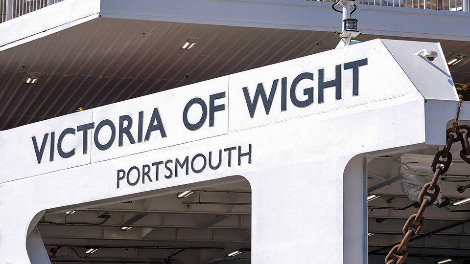 En Çevreci Feribot Ödülü Victoria of Wight'ın!